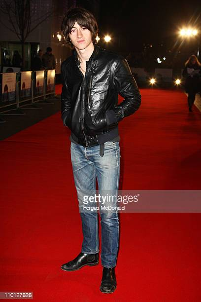 Alex Turner attends the UK premiere of 'Submarine' held at The BFI Southbank on March 15 2011 in London England