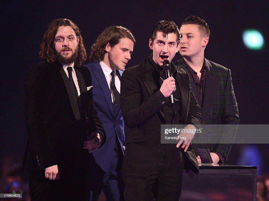 The BRIT Awards 2014 - Show : News Photo