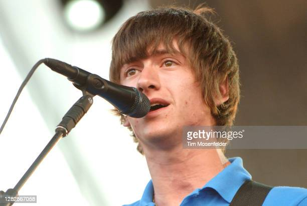 Alex Turner of Arctic Monkeys performs during day two of the Austin City Limits Music Festival at Zilker Park on September 15, 2007 in Austin, Texas.