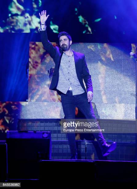 Alex Ubago attends during the Vive Dial festival photocall on September 9 2017 in Madrid Spain