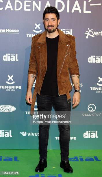 Alex Ubago attends the 'Cadena Dial' awards photocall on March 16 2017 in Tenerife Spain