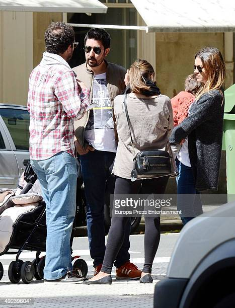 Alex Ubago is seen on April 25 2014 in Madrid Spain