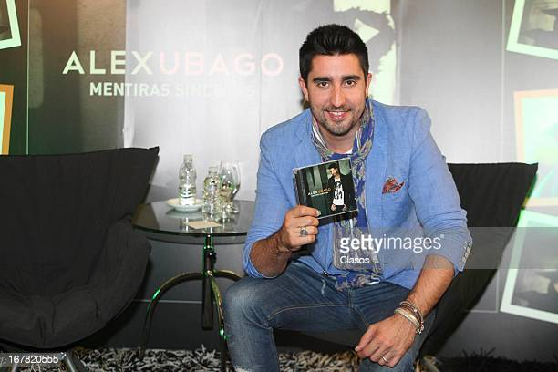 Alex Ubago poses during the presentation of his new album Mentiras Sinceras at St Regis Hotel on April 30 2013 in Mexico City Mexico