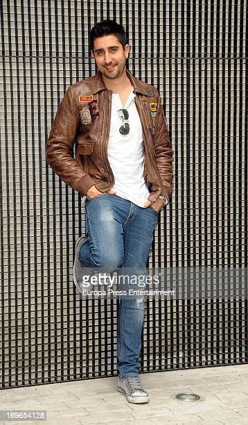 Alex Ubago poses for a photo session on May 29 2013 in Madrid Spain