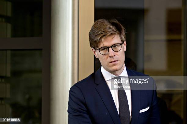 Alex Van der Zwaan former associate at Skadden Arps Slate Meagher Flom UK LLP exits Federal Court in Washington DC US on Tuesday Feb 20 2018 Van der...