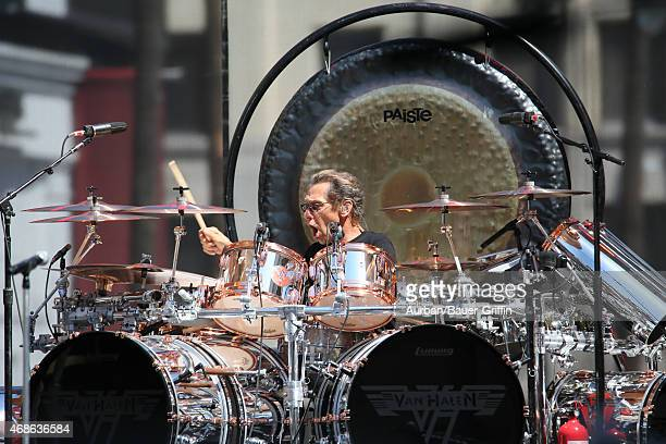 Alex Van Halen is seen at 'Jimmy Kimmel Live' on March 30 2015 in Los Angeles California