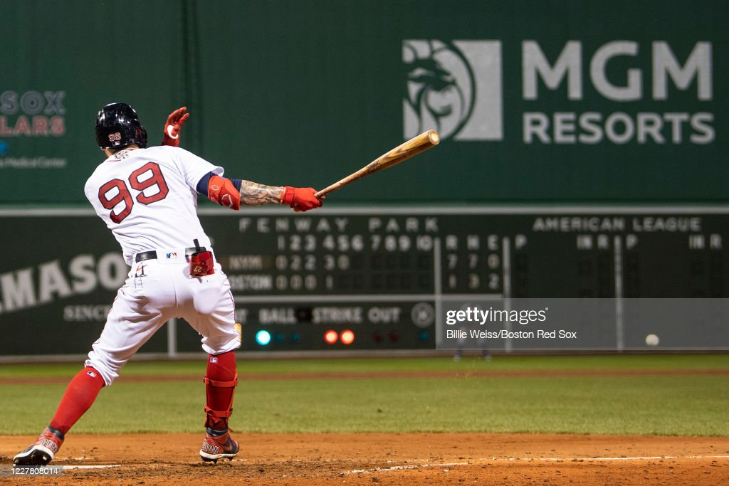 New York Mets v Boston Red Sox : News Photo