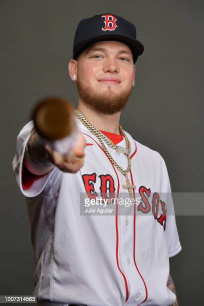 Alex Verdugo of the Boston Red Sox poses for Photo Day at Jet Blue Park at Fenway South on February 19 2020 in Fort Myers Florida