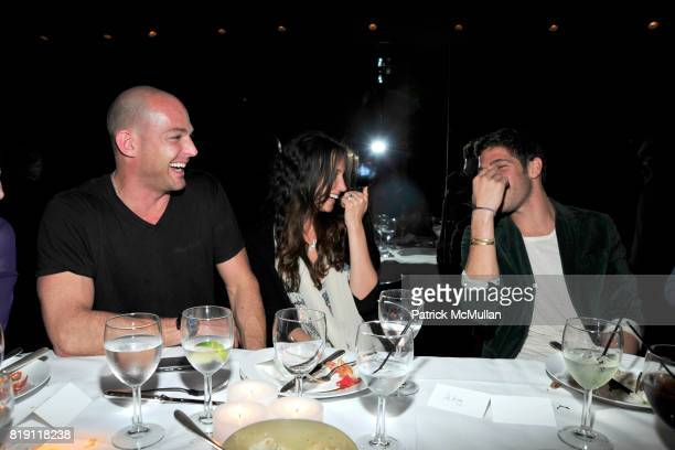 Alex von Furstenberg Ali Kay and PC Valmorbida attend LARRY GAGOSIAN hosts a Private Dinner for the ANDREAS GURSKY Opening Exhibition at GAGOSIAN...