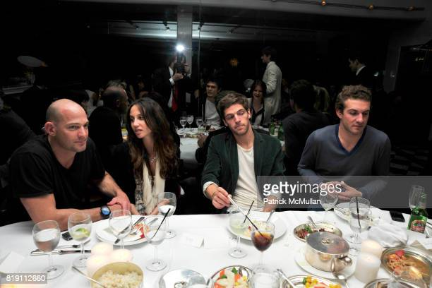 Alex von Furstenberg Ali Kay PC Valmorbida and Stavros Niarchos attend LARRY GAGOSIAN hosts a Private Dinner for the ANDREAS GURSKY Opening...