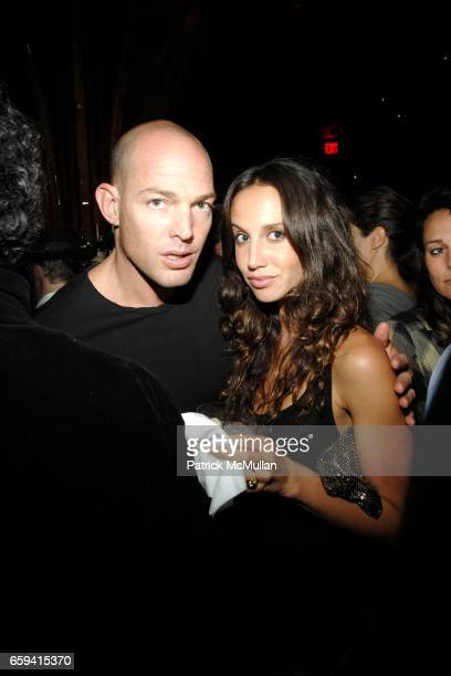 Alex von Furstenberg and Ali Kay attend Andre Balazs's Preview of The Boom Boom Room at The Standard on September 12 2009 in New York City