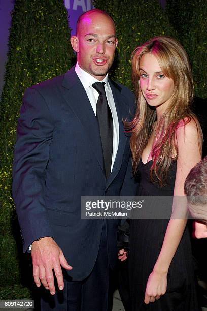 Alex Von Furstenberg and Ali Kay attend VANITY FAIR Oscar Party at Morton's on February 25 2007 in Los Angeles CA