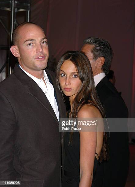 Alex von Furstenberg and Ali Kay during The 50th Anniversary of Ferrari in the United States at Lever House in New York City New York United States
