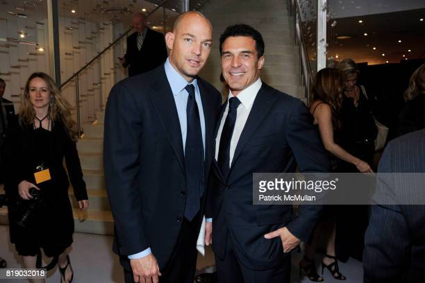 Alex von Furstenberg and Andre Balazs attend Whitney Museum American Art Awards Gala at DVF Studios 820 Washington St on May 6 2010 in New York City