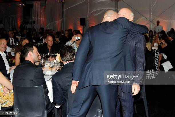 Alex von Furstenberg and Barry Diller attend Whitney Museum American Art Awards Gala at DVF Studios 820 Washington St on May 6 2010 in New York City
