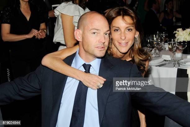 Alex von Furstenberg and Dori Cooperman attend Whitney Museum American Art Awards Gala at DVF Studios 820 Washington St on May 6 2010 in New York City