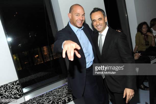 Alex von Furstenberg and Francisco Costa attend DIANE VON FURSTENBERG Dinner In Honor Of CARLOS JEREISSATI at DVF Studios on May 18 2010 in New York...