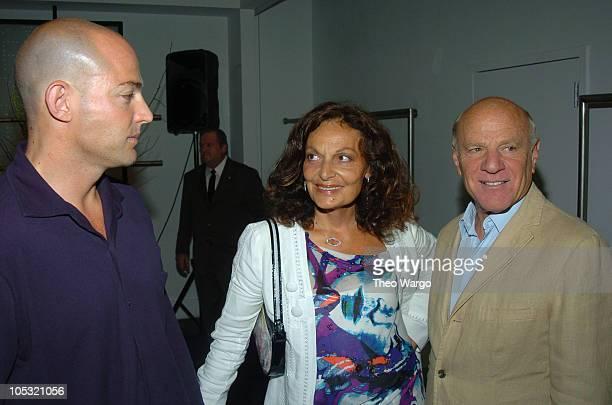 Alex Von Furstenberg Diane Von Furstenberg and Barry Diller