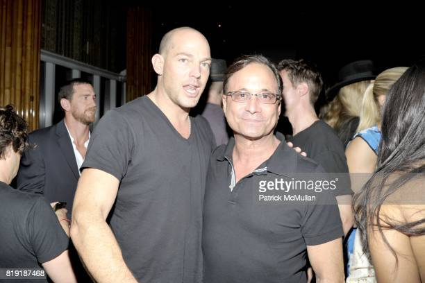 Alex von Furstenberg Ross Bleckner attend DAVID LACHAPELLE'S AMERICAN JESUS After Party at the Top of the Standard on July 13 2010 in New York City