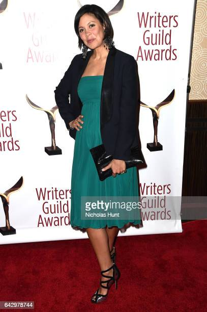 Alex Wagner attends 69th Writers Guild Awards New York Ceremony at Edison Ballroom on February 19 2017 in New York City