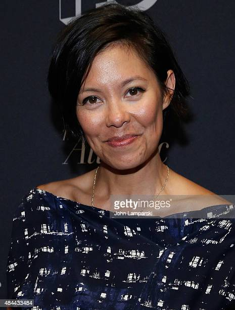 Alex Wagner attends Documentary Now New York screening at New World Stages on August 18 2015 in New York City