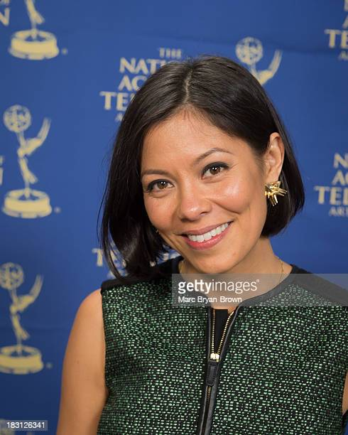 Alex Wagner attends the 34th annual News Documentary Emmy awards at Frederick P Rose Hall Jazz at Lincoln Center on October 1 2013 in New York City