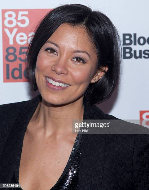 Alex Wagner attends the Bloomberg Businessweek's 85th Anniversary Celebration at the American Museum of Natural History in New York City �� LAN
