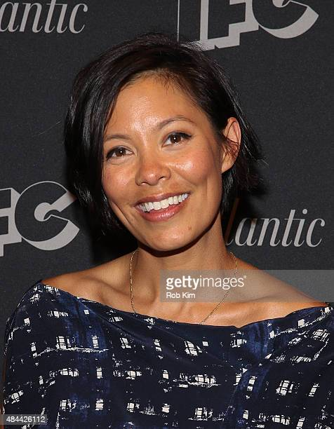 Alex Wagner attends the New York Screening for Documentary Now at New World Stages on August 18 2015 in New York City