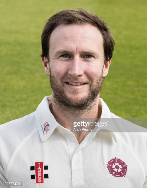 Alex Wakely of Northamptonshire during the Northamptonshire County Cricket Club Photo Shoot at The County Ground on July 10 2020 in Northampton...