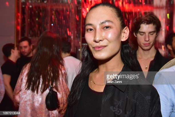 Alex Wang poses at the Alex Wang's Big Trouble In Little China At The Rainbow Room Powered by Cash App on February 9 2019 at The Rainbow Room in New...