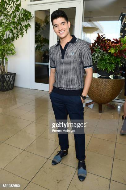 Alex Wassabi at the 2017 Streamy Awards at The Beverly Hilton Hotel on September 26 2017 in Beverly Hills California