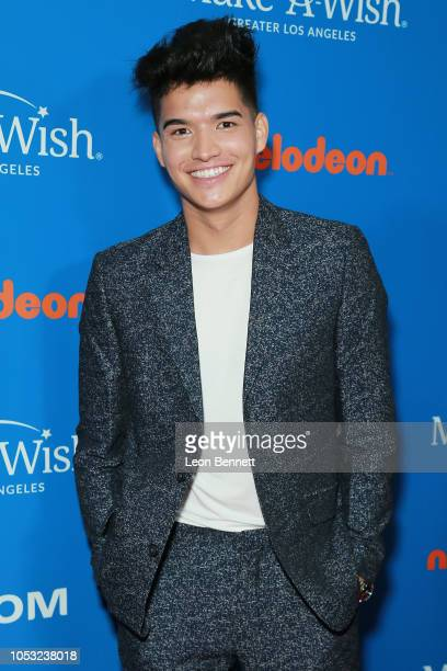 Alex Wassabi attends 2018 Annual WISH Gala Arrivals at The Beverly Hilton Hotel on October 24 2018 in Beverly Hills California