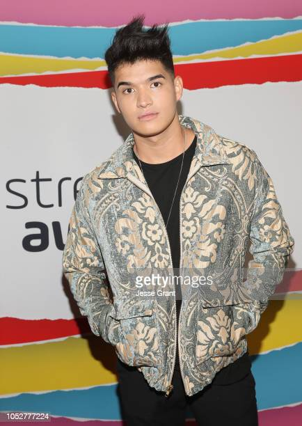 Alex Wassabi attends The 8th Annual Streamy Awards at The Beverly Hilton Hotel on October 22 2018 in Beverly Hills California