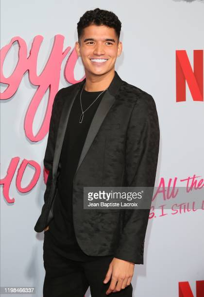 Alex Wassabi attends the Premiere of Netflix's To All The Boys PS I Still Love You at the Egyptian Theatre on February 03 2020 in Hollywood California