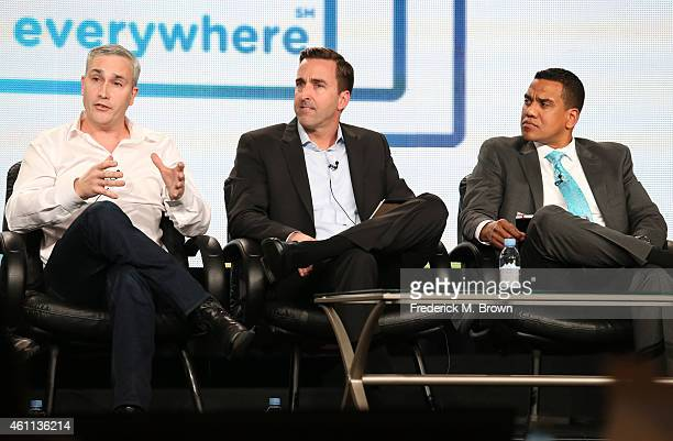 Alex Wellen Chief Product Officer CNN Digital Jonathan Freeland VP Video Product Marketing Cox Communications and James Rollins VP Digital Video...