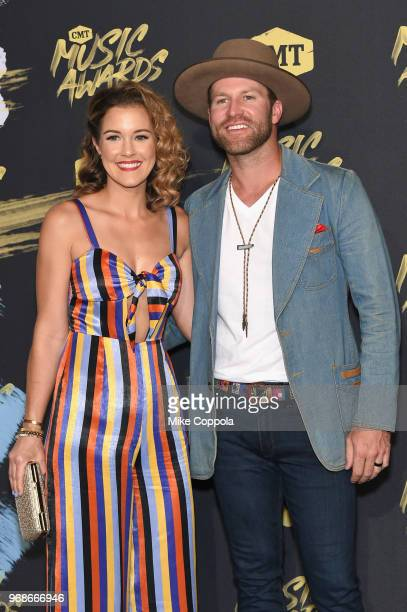 Alex White and Drake White attend the 2018 CMT Music Awards at Bridgestone Arena on June 6 2018 in Nashville Tennessee