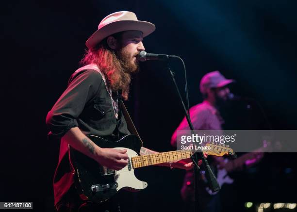 Alex Williams performs in support of the Aaron Lewis Sinner Tour at The Fillmore on February 17 2017 in Detroit Michigan