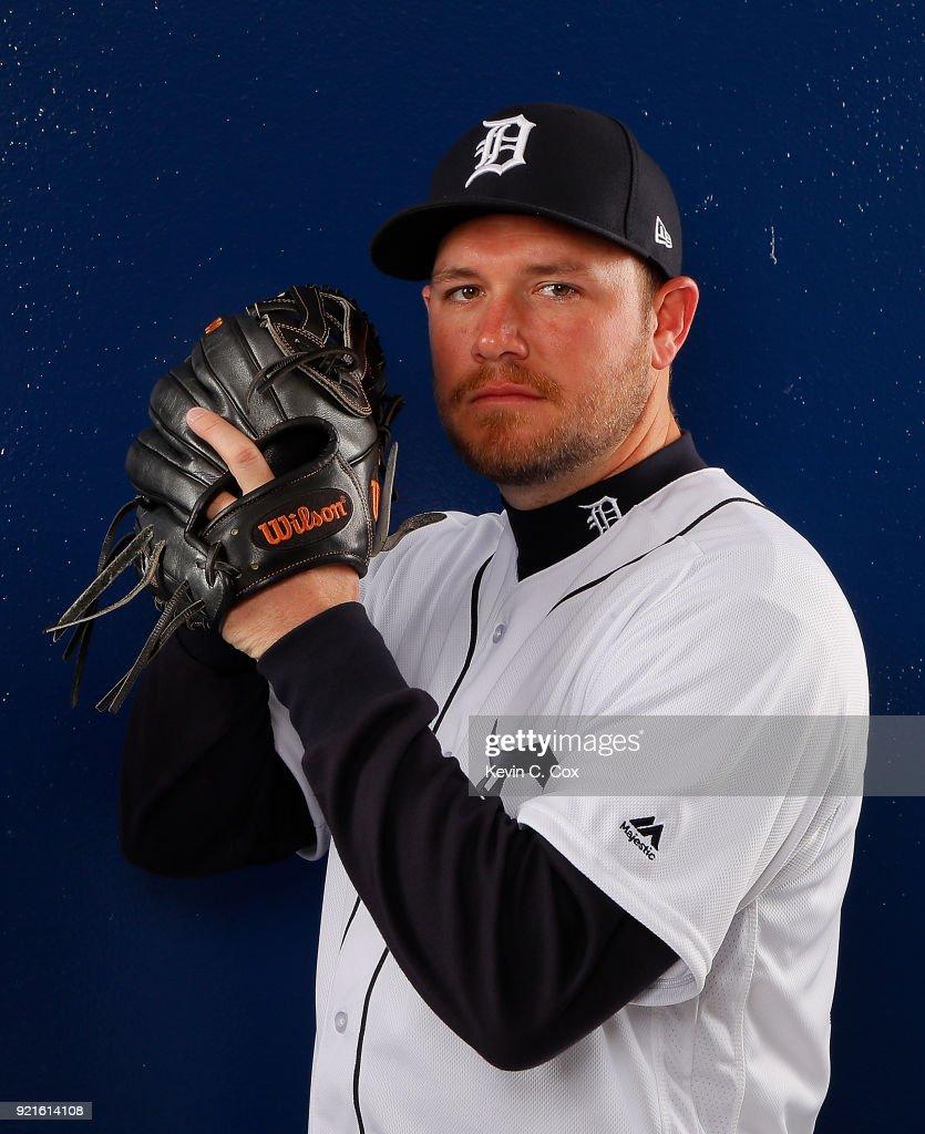 Detroit Tigers Photo Day : Foto di attualità