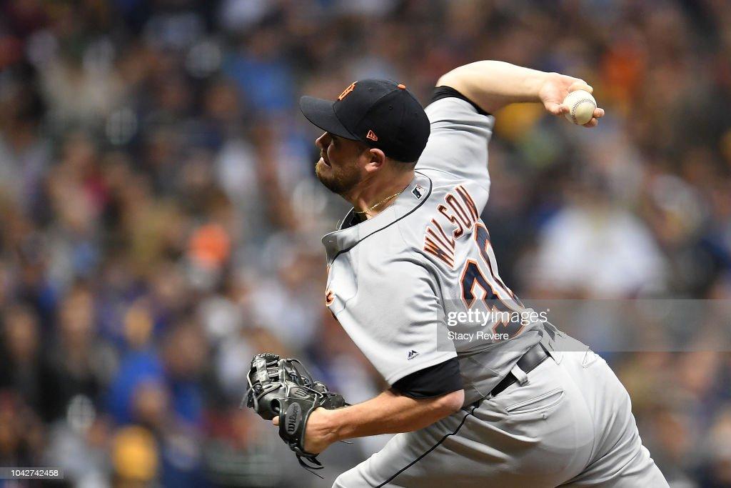 Detroit Tigers v Milwaukee Brewers : News Photo