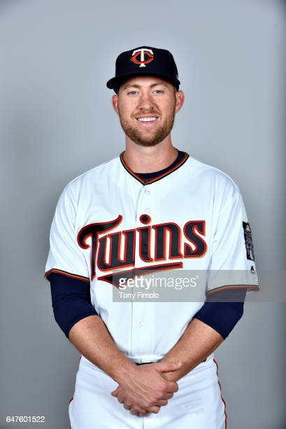 Alex Wimmers of the Minnesota Twins poses during Photo Day on Thursday February 23 2017 at Hammond Stadium in Fort Myers Florida