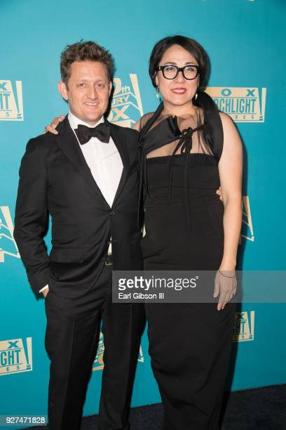 Alex Winter and Ramsey Ann Naito attend Fox Searchlight And 20th Century Fox Host Oscars PostParty on March 4 2018 in Los Angeles California