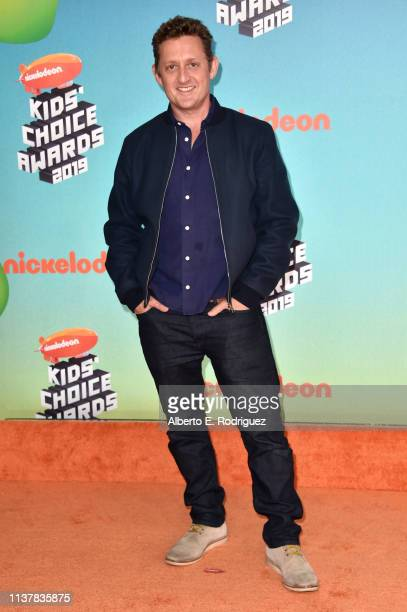 Alex Winter attends Nickelodeon's 2019 Kids' Choice Awards at Galen Center on March 23 2019 in Los Angeles California