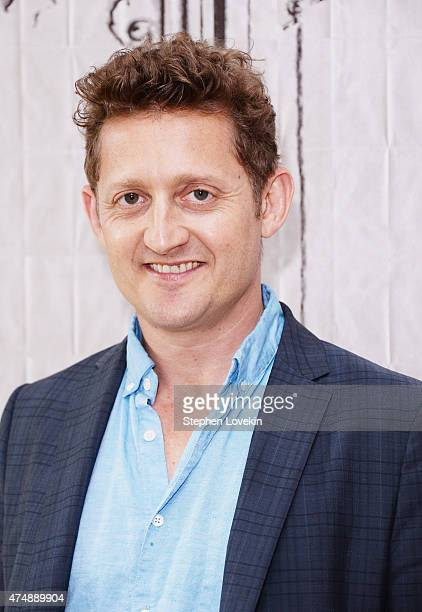 Alex Winter attends The AOL BUILD Speaker Series Alex Winter at AOL Studios In New York on May 27 2015 in New York City