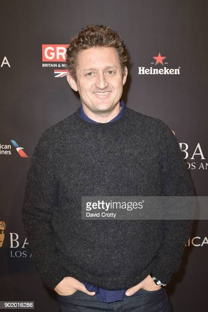 Alex Winter attends The BAFTA Los Angeles Tea Party Arrivals at Four Seasons Hotel Los Angeles at Beverly Hills on January 6 2018 in Los Angeles...