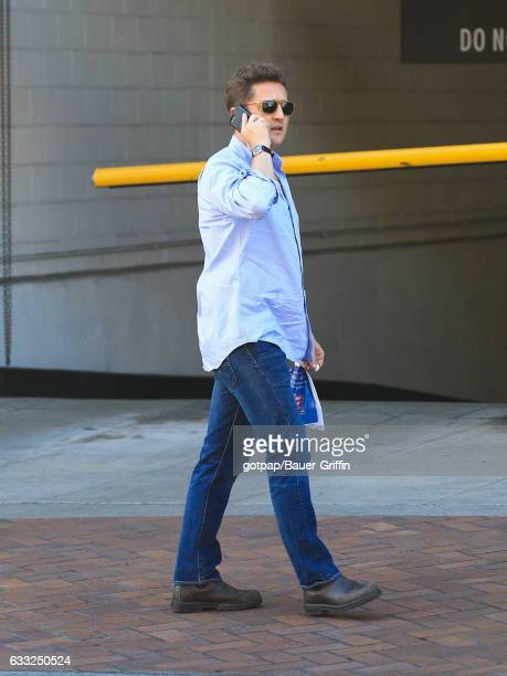 Alex Winter is seen on January 31 2017 in Los Angeles California