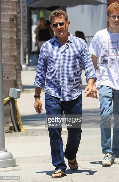 Alex Winter is seen on July 6 2017 in Los Angeles California