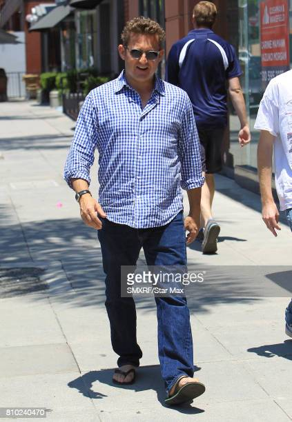 Alex Winter is seen on July 6 2017 in Los Angeles California