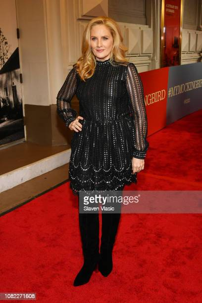 Alex Witt attends opening night of To Kill A Mocking Bird at the Shubert Theatre on December 13 2018 in New York City