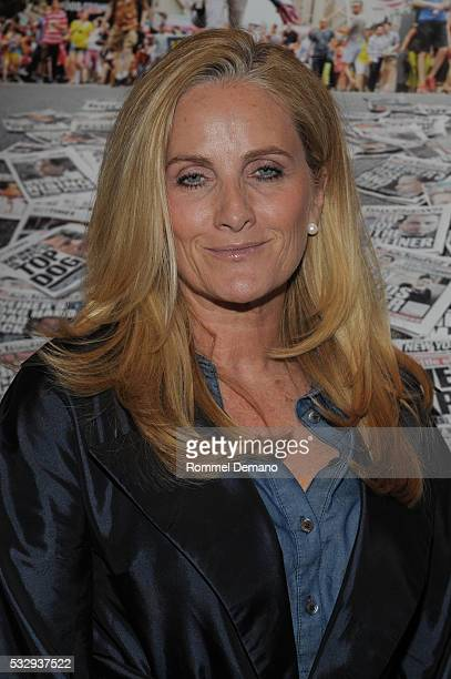 Alex Witt attends the Weiner New York Screening at The Roxy on May 19 2016 in New York City