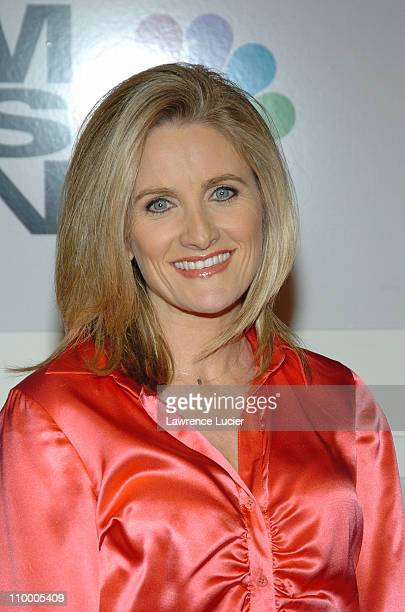 Alex Witt during MSNBC Launches MSNBC at the Movies and MSNBC Entertainment Hot List at The Hit Factory in New York City New York United States